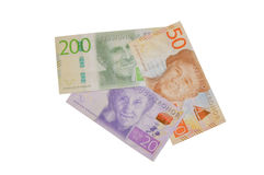 New sweden krona banknote arrow. Swedish Royalty Free Stock Images