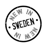 New In Sweden rubber stamp Royalty Free Stock Photo