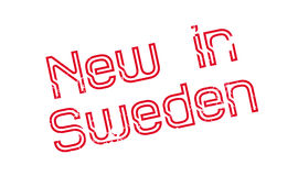 New In Sweden rubber stamp Royalty Free Stock Image