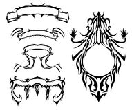 New symbols. Different symbols, modern, new, full of fantasy, as well as exclusive. All of the Royalty Free Stock Image