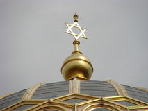 NEW SYNAGOGUE IN BERLIN royalty free stock image