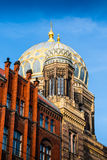 The New Synagogue is the main synagogue in Berlin, Germany Royalty Free Stock Photography