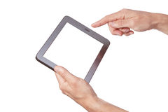 The new tablet. Royalty Free Stock Images