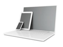 New Tablet PC Stock Photo
