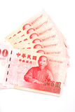 New Taiwan Dollar bill Stock Photography