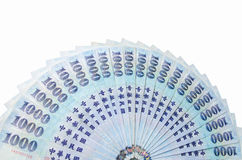 1000 New Taiwan Dollars Royalty Free Stock Photo
