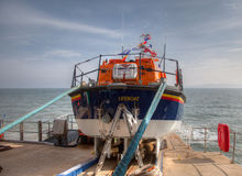 New Lifeboat Royalty Free Stock Photography