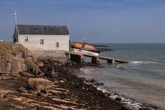 New Lifeboat Stock Image