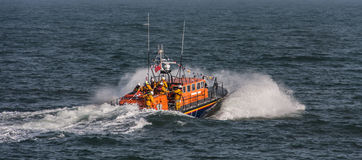New Lifeboat Royalty Free Stock Photo