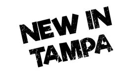 New In Tampa rubber stamp Royalty Free Stock Photo