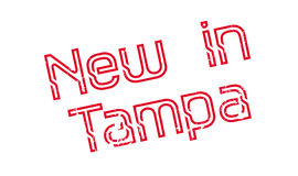 New In Tampa rubber stamp Stock Photography