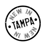 New In Tampa rubber stamp Royalty Free Stock Photos