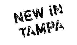 New In Tampa rubber stamp Royalty Free Stock Photography