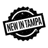 New In Tampa rubber stamp Royalty Free Stock Images