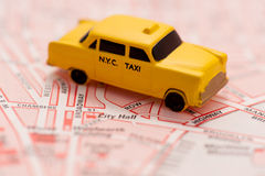 new taxi york Στοκ Εικόνα