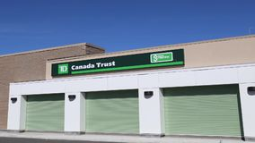 New TD Bank branch Stock Photo