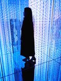 Teamlab borderless Odaiba, Japan. New Teamlab borderless Odaiba, Japan royalty free stock photos
