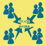 New teamwork Stock Photography