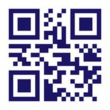 New Technology Barcode QR Code Vector. Classic QR Code Vector. Black And White Monochrome Illustration royalty free illustration