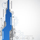 New technology business background, vector illustration Royalty Free Stock Image