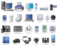 New technology electrical products Stock Image