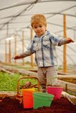 New technology in farming. innovation in new technology in farming. small boy farming with new technology. new. Technology in farming concept. modern life stock images