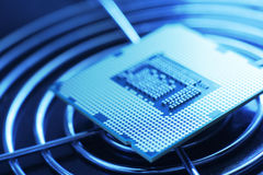 New Technology Processor stock image