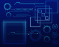 New Technology Vector Backround Stock Photo