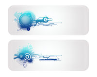 New Technology Vector Banner. And Backround Royalty Free Stock Photos