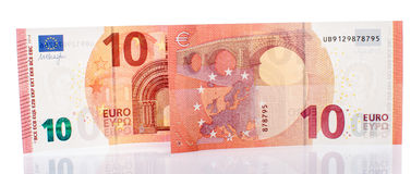 New ten euro banknote Royalty Free Stock Image