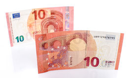 New ten euro banknote Royalty Free Stock Photos