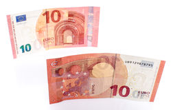 New ten euro banknote Royalty Free Stock Photography