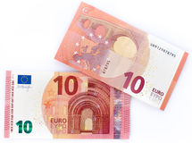 New ten euro banknote Stock Images
