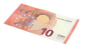 New ten euro banknote Stock Photography