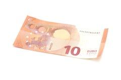 New ten euro banknote Stock Photo
