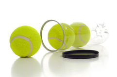 New Tennis Balls Stock Photos