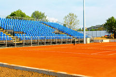 New tennis court Royalty Free Stock Photo