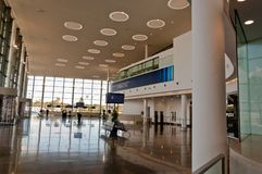 New Terminal Lobby. The Lobby area of the new International Airport Terminal in Gibraltar Stock Photography
