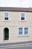 New Terraced House. Exterior of a newly built terraced house Royalty Free Stock Images