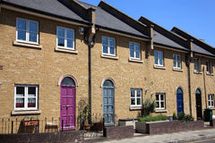 New Terraced Houses Royalty Free Stock Images