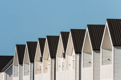 New terraced houses Royalty Free Stock Image