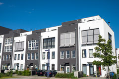 New terraced housing Royalty Free Stock Image