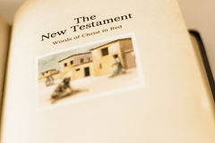 The New Testament Royalty Free Stock Image