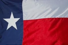 New Texas Flag Stock Image