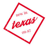 New In Texas rubber stamp Royalty Free Stock Photography