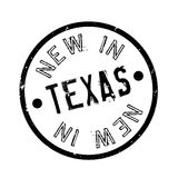 New In Texas rubber stamp Stock Photos