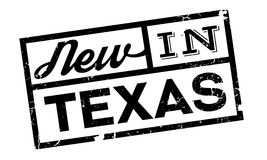 New In Texas rubber stamp Stock Photo