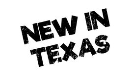 New In Texas rubber stamp Royalty Free Stock Photo