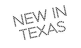 New In Texas rubber stamp Stock Photography
