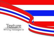 New text flag thai Stock Images